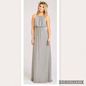 Show Me Your Mumu dress: Amanda dress Charcoal